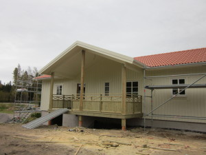 Ny villa i Fagerhult