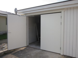 Ny garageport